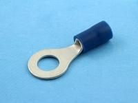 Кабельный наконечник кольцевой, изолированный, M6, 1.50-2.50мм2, синий, Jeesoon R2-6V