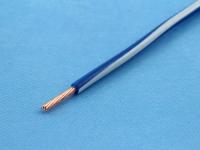 Провод монтажный НВМ-4 0.35мм2, 600В, сине-белый, ГОСТ 17515-72 (цена за 1 метр)