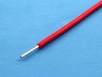 Провод монтажный луженый НВ-1 0.75мм2, 600В, ГОСТ 17515-72, красный (цена за 1 метр)