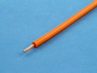 Провод ПВ3 0.50мм2, оранжевый (цена за 1 метр)
