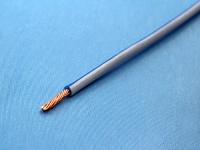 Провод ПВАМ 0.35мм2, сине-белый (цена за 1 метр)