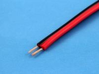 Кабель ШВПМ 2х0.20мм2, красный/черный (цена за 1 метр)
