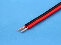 Кабель ШВПМ 2х0.35мм2, красный/черный (цена за 1 метр)
