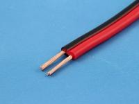 Кабель ШВПМ 2х0.50мм2, красный/черный (цена за 1 метр)