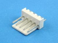Вилка на плату WF-05 (MX) прямая, 5 контактов, шаг 2.54, HSM W2600-05PSYTW0R