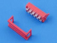 Разъем MM-10M, шаг 2.54х1.50мм, под обжим, на шлейф 1.27мм, 100В, 1А, WE 690157001072