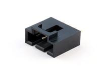 Разъем BL-4M вилка на плату, шаг 2.54мм, прямая, под пайку, HSM W7166-04PSGB00R