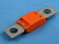 Предохранитель 68.6х18.9мм, под болт M8, MegaVAL 32V, 150A, оранжевый, MTA F150MEGAVAL