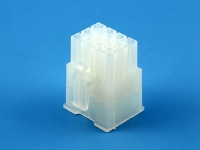 Корпус разъема MFB-3x04F, шаг 4.14х4.14мм, 6А, 250В, белая, HSM H1110-12PTAW00R