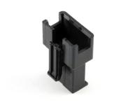 """Корпус разъема GT-04M, для клемм """"папа"""", шаг 2.50мм, черный, HSM H2325-04PB0000"""