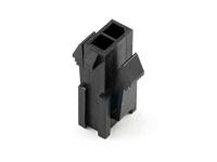 "Корпус разъема MMF-2x01M (MF3-2M) Micro-Fit, для клемм ""папа"", шаг 3.00мм, черный, HSM H4030-02PDB000R"