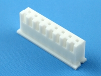 Колодка пластиковая HK-08, шаг 2.50мм, 2А, 250В, белая, HSM H7000-08PW0000R