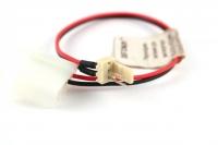 Переходник питания для вентилятора 3pin HDD4M->FAN3M, +12V, 20см, Definum DF-HDD4M-FAN3M-020