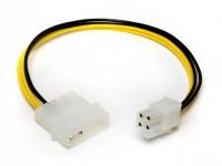 Переходник питания HDD-P4, 0.50мм2, 20см, Definum DF-HDD4M-P4F-020
