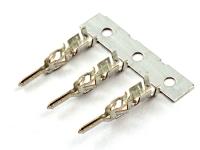 "Клемма MMF-M (Micro-Fit), ""папа"", шаг 3.00мм, 20-24AWG, Phoshor Bronze, Tin, Molex 43031-0001"