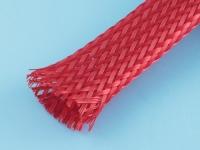 Сетка защитная, d=10..16мм, полиэстер, красная, IPROFLEX, IPROTEX 15PET-12-RD (цена за 1 метр)