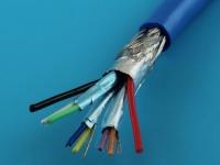 Кабель USB 3.0, 8 жил / экран, синий, USB3.0-8C