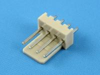 Вилка на плату WF-04S (MX) прямая, 4 контакта, шаг 2.54мм, HSM W2600-04PSYTC0R