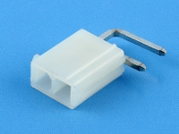 Вилка на плату MF-2x01MRA Mini-Fit, шаг 4.20мм, угловая, под пайку, без ушей, HSM W4505-02PDRBTWR