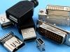 Разъемы USB, DVI, HDMI