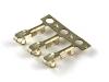 Клемма HU, шаг 2.54мм, 22-28AWG, Brass, Tin, HSM T2510-TBJ00000R