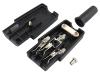 Розетка C13, на кабель, разборная, прямая, 250В, 10А, AC-102