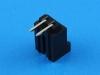 Вилка на плату BL-2MR, шаг 2.54мм, угловая, THT, 3А, 250В, HSM W7166-02PRGB00R