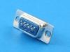Разъем D-Sub DB-09M, 9 pin, под пайку на кабель, Connfly DS1033-09MUNSISS