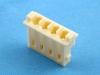 Корпус разъема HR-04, шаг 2.50мм, белый, HSM H2530-04PW0000R