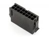 Корпус разъема MMF-2x08M (MF3-16M) Micro-Fit, для клемм папа, Molex 43020-1600