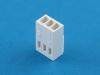 Колодка пластиковая HU-03, шаг 2.54мм, 3А, 250В, белая, Connfly I-DS1070-SCV03