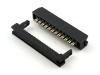 Разъем IDC2-24F, 24 pin, мама 2.00х2.00мм, на шлейф 1.00мм, HSM C9200-24YYSB00