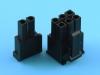Колодка пластиковая MF-2x04F, 4.20мм, PCI-E, 6+2pin, KLS L-KLS1-4.20-26H00
