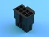 Колодка пластиковая MF-2x04F, 4.20мм, PCI-E, 4+4pin, KLS L-KLS1-4.20-44H00