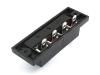 Клеммная колодка проходная нажимная на 4 провода, Premier 1-701