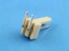 Вилка на плату WF-02R (MX) угловая, 2 контакта, шаг 2.54мм, HSM W2600-02PRYTC0R