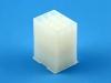 Корпус разъема MFB-3x04M, для клемм папа, шаг 4.14мм, белый, HSM H1010-12PTAW00R