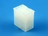 Корпус разъема MFB-3x05M, шаг 4.14x4.14мм, 5А, 300В, белая, HSM H1010-15PTAW00R