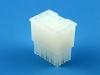 Корпус разъема MFB-3x05F, шаг 4.14х4.14мм, 5А, 300В, белая, HSM H1110-15PTAW00R