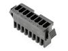 Корпус разъема GT-08F, для клемм мама, шаг 2.50мм, черный, HSM H2320-08PB0000