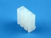 Корпус разъема MHU-03, шаг 5.08мм, белый, HSM H5080-03PYW000R