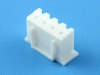 Колодка пластиковая HK-04, шаг 2.50 мм, 2А, 250В, белая, HSM H7000-04PW0000R