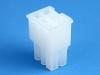 Корпус разъема MF-2x03F (Mini-Fit Jr), для клемм мама, шаг 4.20мм, белый, Molex