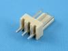Вилка на плату WF-03S (MX) прямая, 3 контакта, шаг 2.54мм, HSM W2600-03PSYTC0R